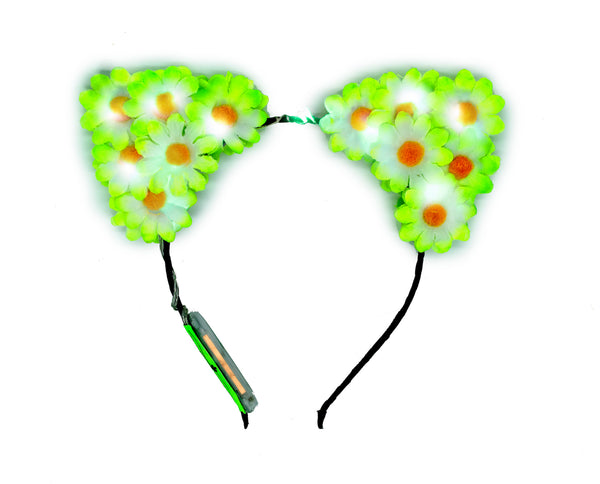 NEON GREEN GLOW DADDY EARS