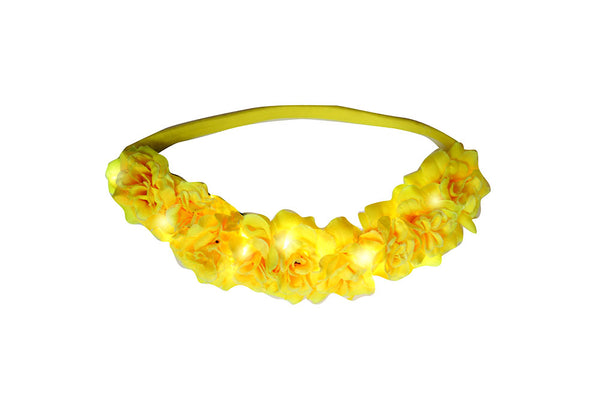 YELLOW ARIEL GLOW BAND