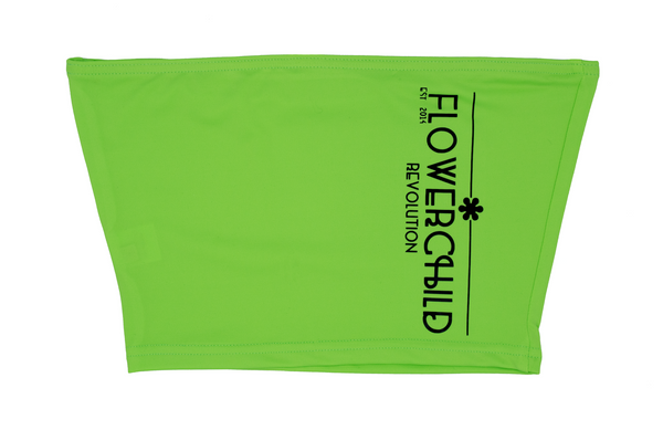"GREEN ""FCR"" CROP TOP"
