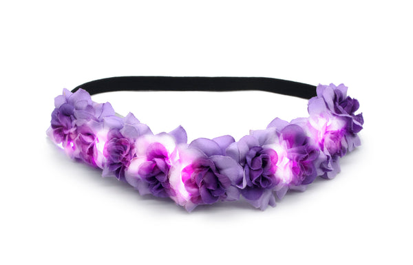 PURPLE ARIEL GLOW BAND