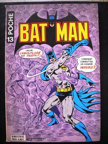 Batman No. 13 Poche Comics 1978  French Colored