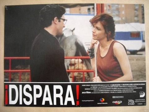 "Dispara ""Antonio Banderas"" Style F Original Movie Lobby Card 90s"