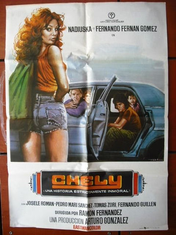 Chely Manuel Alexandre Spanish Movie Poster 70s