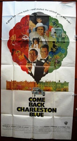 Come Back Charleston Blue American 81x41in Movie Poster 70s