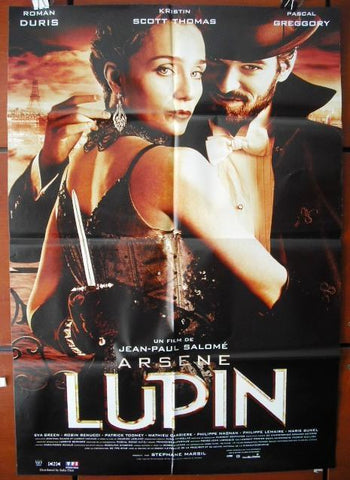 Arsene Lupin (Romain Duris) B ORG. 40x27 Spanish Movie Poster 2000s