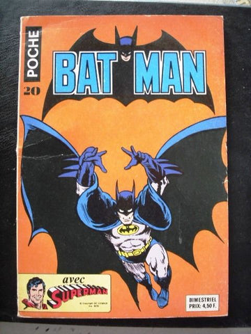 Batman No. 20 Poche Comics 1979  French Colored