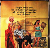 "Saint Jack {Peter Bogdanovich} 27""x41"" Orig. British Movie Poster 80s"