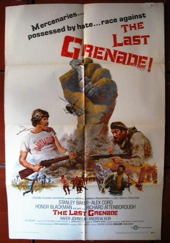 The Last Grenade American Movie Poster 70s