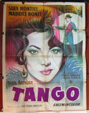 "Mon Dernier Tango {Sara Montiel} 47""x63"" French Movie Poster 60s"