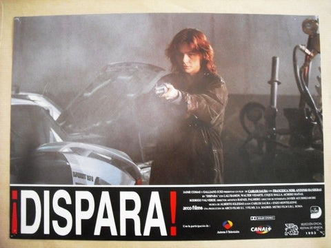 "Dispara ""Antonio Banderas"" Style A Original Movie Lobby Card 90s"