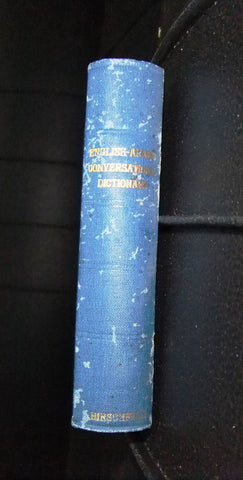 Vintage English Arabic Conversational Dictionary Great Britain Hirschfeld 60s?