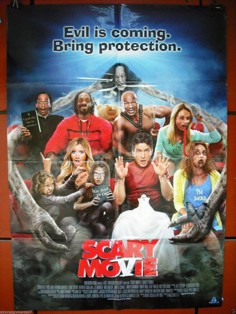 Scary Movie 5 Ashley Tisdale 40x27 Original Folded Movie Poster 2013 Braichposters