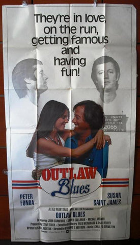Outlaw Blues American Movie Poster 70s