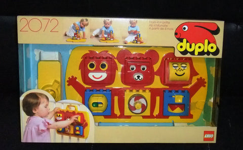 Vintage Lego 2072 Duplo Lego Learn and Build Center Sealed New Original 1987