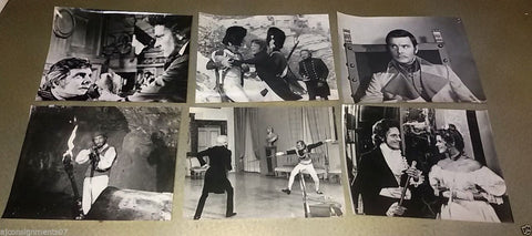 "{Set of 20} The Count of Monte Cristo RICHARD C 8x10"" Movie Org. B&W Photos 70s"