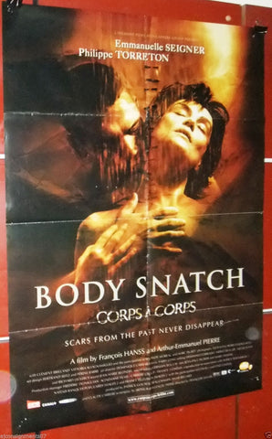 "Body Snatch, Corps à Corps Philippe Torreton 40x27"" Original Movie Poster 2000s"