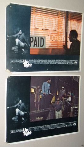 (Set of 8) Up Tight {RAYMOND ST. JACQUES} 14x11 Original Lobby Cards 60s