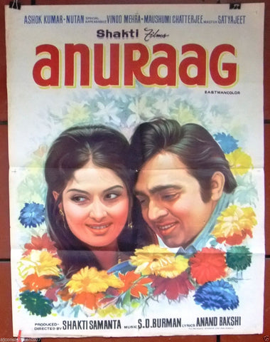 Anuraag (Rajesh Khanna)  Bollywood Hindi Original Movie Poster 70s
