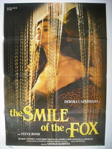 "The Smile of the Fox ""Debora Caprioglio"" Original Lebanese Movie Poster 90"