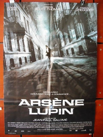 Arsene Lupin (Romain Duris) A Original 40x27 Movie Spanish Poster 2000s