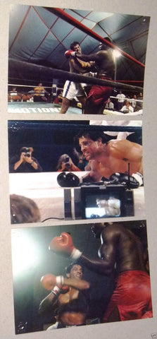 (SET OF 7) The Opponent {Daniel Greene} Original Movie Colored Photos 80s