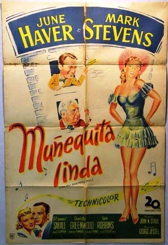 Oh, You Beautiful Doll Argentinean Movie Poster 40s