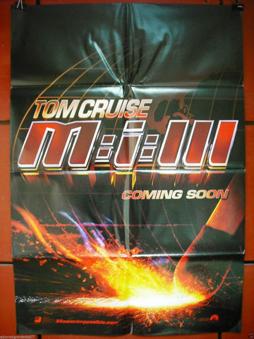 "Mission Impossible III {Tom Cruise} 40""x27"" Lebanese Movie Poster 2000s"