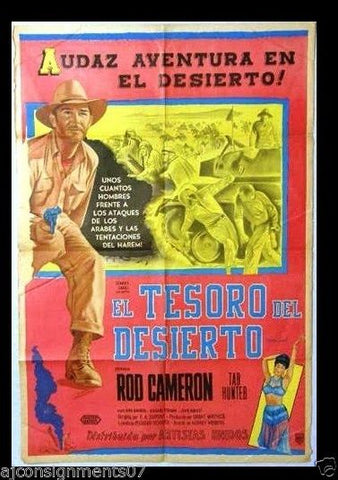 The Steel Lady Argentinean Movie Poster 50s