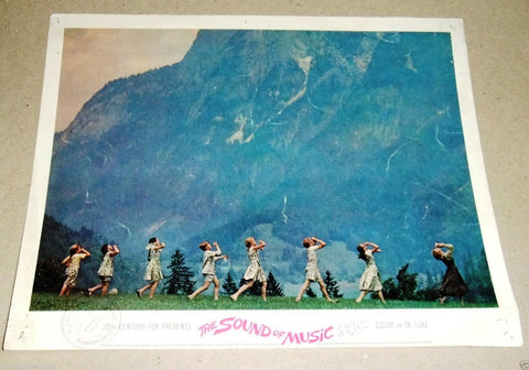 (Set of 4) THE SOUND OF MUSIC (Julie Andrews) 14x11 Original Lobby Cards 60s