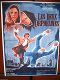 Les Deux Orphelines {Riccardo Freda} French Org. Movie Flyer 60s