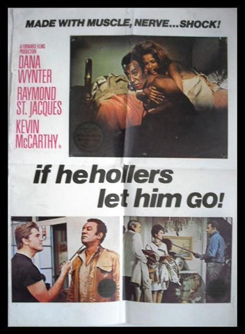 If He Hollers, Let Him Go! (Dana Wynter) Lebanese Movie Poster 60s