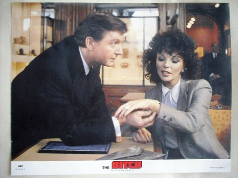 The Bitch Orig UK C Film Lobby Card Joan Collins 70s