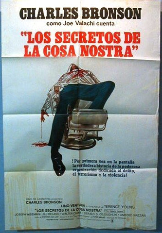 The Valachi papers Argentinean Movie Poster 70s