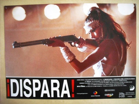"Dispara ""Antonio Banderas"" Style D Original Movie Lobby Card 90s"