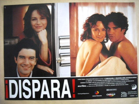 "Dispara ""Antonio Banderas"" Style C Original Movie Lobby Card 90s"