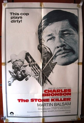The Stone killer Original Movie Poster 70s