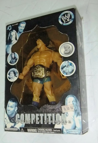 Competition Contend For Champion Action Figure WWE Jakks Wrestler Rare 2005