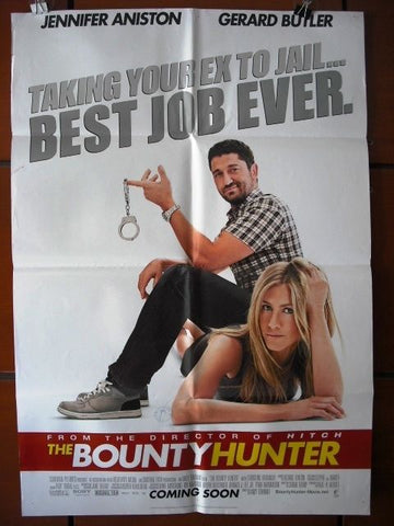 The Bounty Hunter Original 40x27 Movie Poster 2010