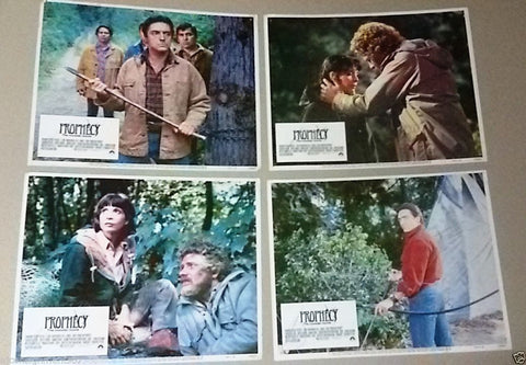 "{Set of 12} Triangulo {Nuria Espert} 11X10"" Org. Spanish LOBBY CARD 70s"
