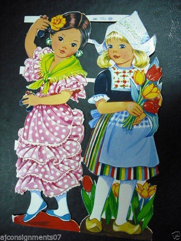 Die Cut Scrap Sheet (Girls) Glanzbilder MLP # 1501 England
