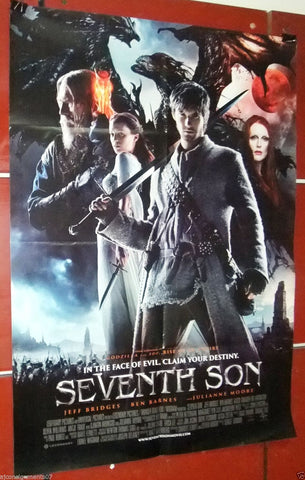"Seventh Son {Jennifer Lopez} 40x27"" Original Int. Movie Poster 2000s"