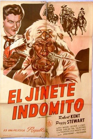 The Phantom Rider Argentinean Movie Poster 40s