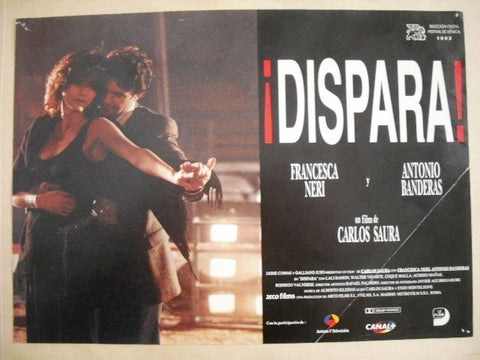 "Dispara ""Antonio Banderas"" Style E Original Movie Lobby Card 90s"