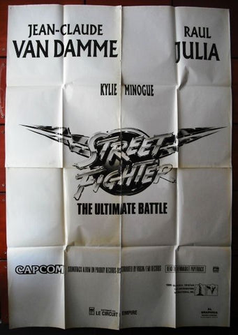 2sht Street Fighter the Ultimate Battle movie Poster