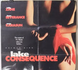 "Lake Consequence (Joan Severance) Original Movie 39''x27"" Lebanese Poster 90s"