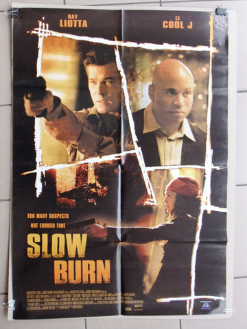 "Slow Burn (Ray Liotta) 39x27"" Original Lebanese SS Movie Poster 2000s"