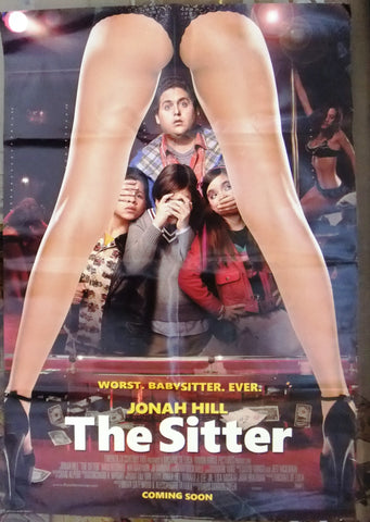 "The Sitter (JONAH HILL) 39x27"" Org. International US DS Movie Poster 2000s"