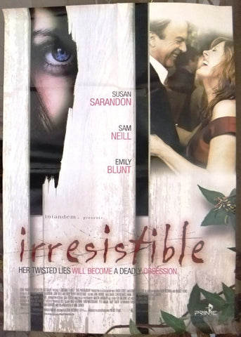 "IRRESISTABLE (Susan Sarandon) 39x27"" Org. International SS Movie Poster 2000s"