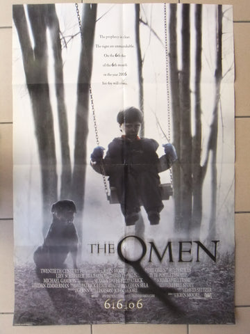 The Omen (Liev Schreiber) Original Type B DS US Movie Poster 2000s