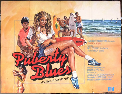Puberty Blues Poster